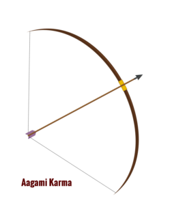 Aagami karma arrow in bow